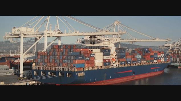 Le projet Laurentia comprend la construction d'un terminal de conteneurs.
