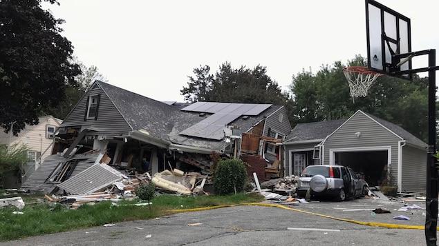 Etats-Unis: Des dizaines de maisons explosent près de Boston