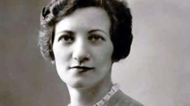 Léa Roback très jeune