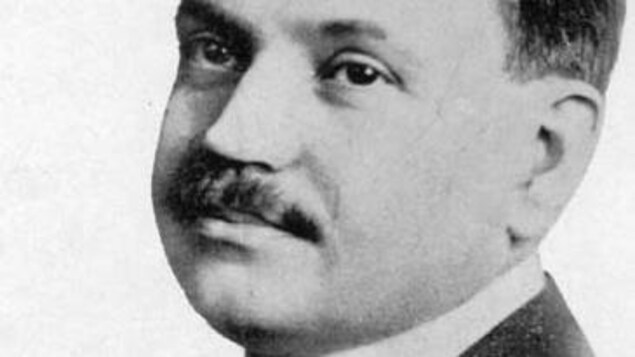 Un portrait de Léo-Ernest Ouimet jeune