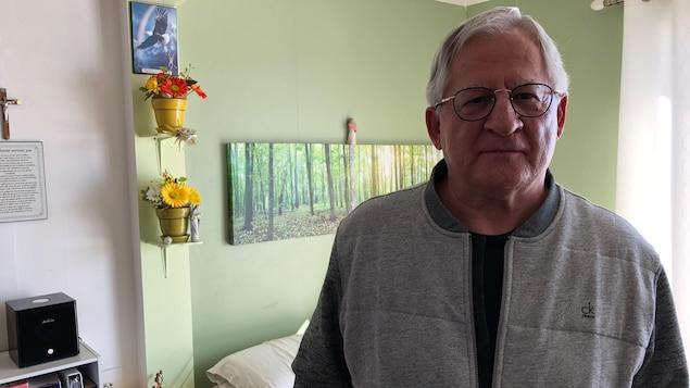 Léonce Roy, retraité et résident de Québec
