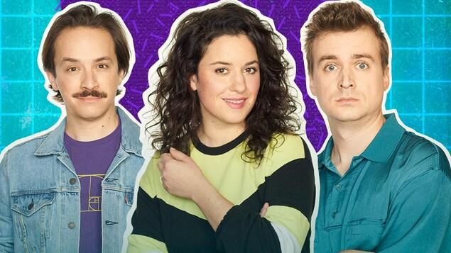 Montage photo des trois personnes.