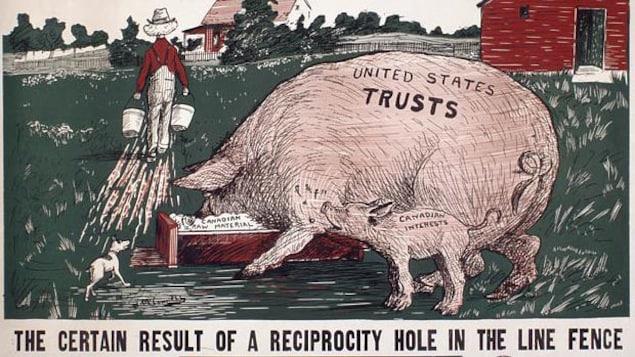 Publicité électorale de 1911.