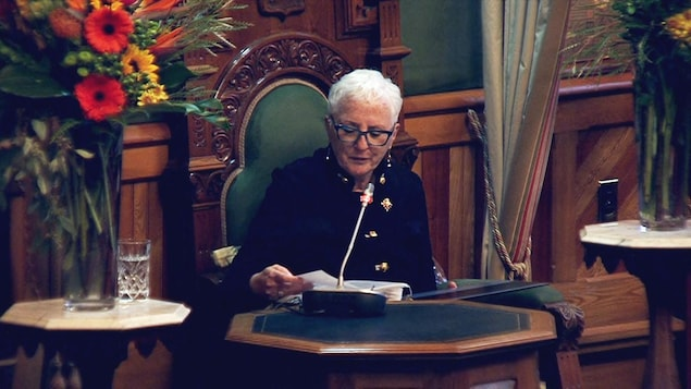 La lieutenante-gouverneure du Nouveau-Brunswick, Brenda Murphy, le 17 novembre 2020.