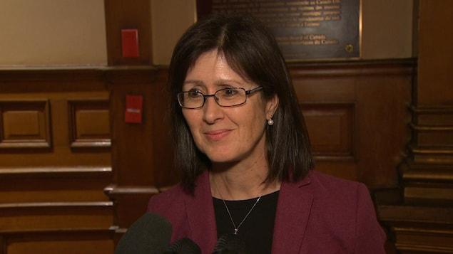 La professeure Linda Cardinal de la Chaire de recherche sur la francophonie et les politiques publiques à l'Université d'Ottawa