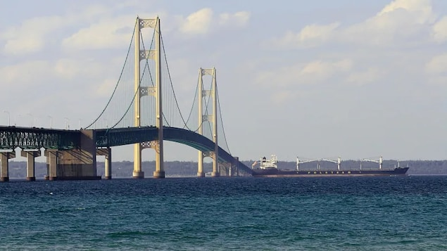 The Straits of Mackinac, where Lake Michigan meets Lake Huron, has been described by researchers as the 'worst possible place' for a Great Lakes oil spill.