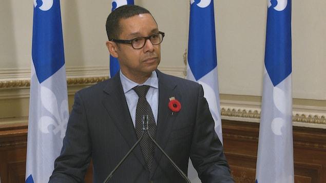 Lionel Carmant, ministre délégué à la Santé et aux Services Sociaux