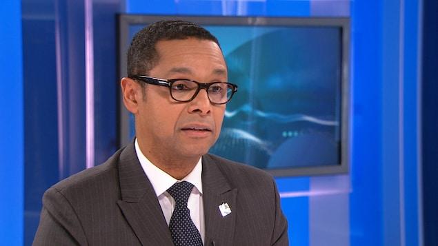 Le ministre délégué à la Santé et aux Services sociaux, Lionel Carmant.
