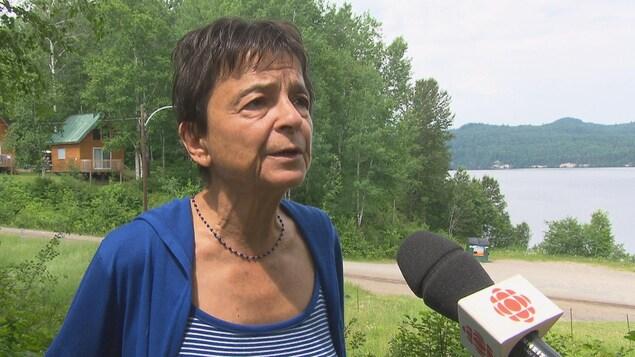 Lise Garon en entrevue