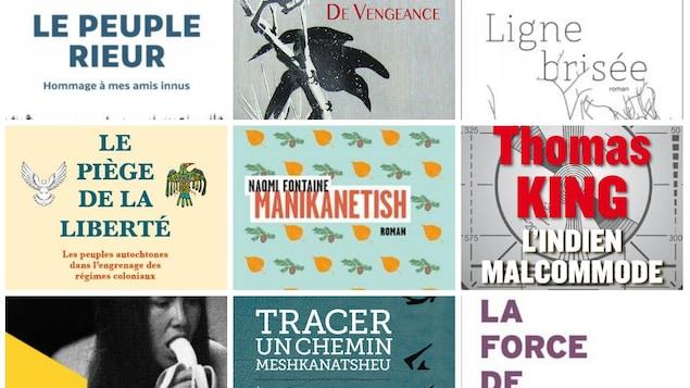 Liste de livres sur ou écrits par les autochtones 2017