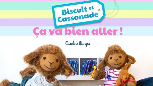 Une page couverture d'un livre pour enfants.