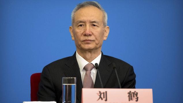 Le vice-premier ministre chinois Liu He.