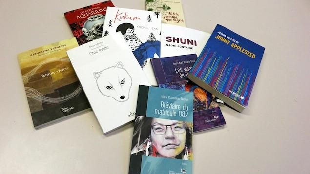 Une sélection de livres écrits par des auteurs autochtones et publiés à l'été et l'automne 2019.