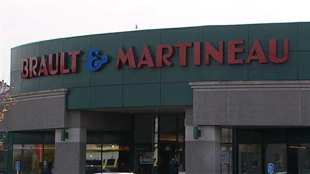 Un magasin Brault et Martineau.