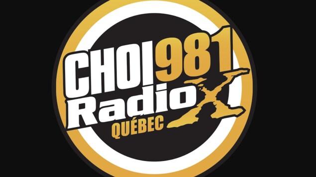 Le logo de CHOI Radio X à Québec