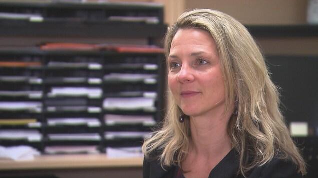 Johana Monthuy-Blanc, directrice du Loricorps de l'Université du Québec à Trois-Rivières.