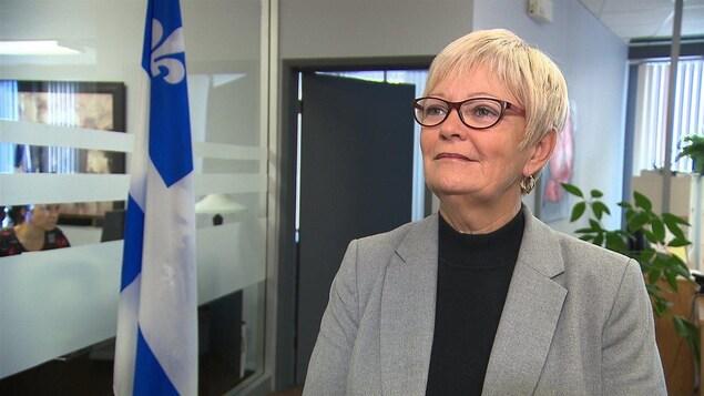 La députée du Parti québécois dans Duplessis, Lorraine Richard.