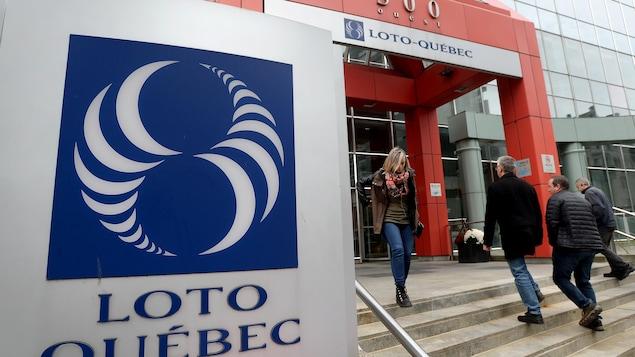 Le siège social de Loto-Québec à Montréal.