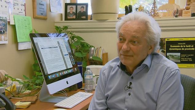 Luc Bouthillier, professeur spécialisé en politique forestière et évaluation environnementale de l'Université Laval