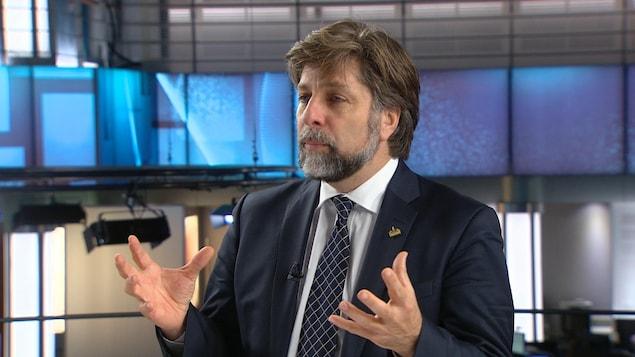 Luc Ferrandez, responsable de l'Environnement et des Grands Parcs à la Ville de Montréal
