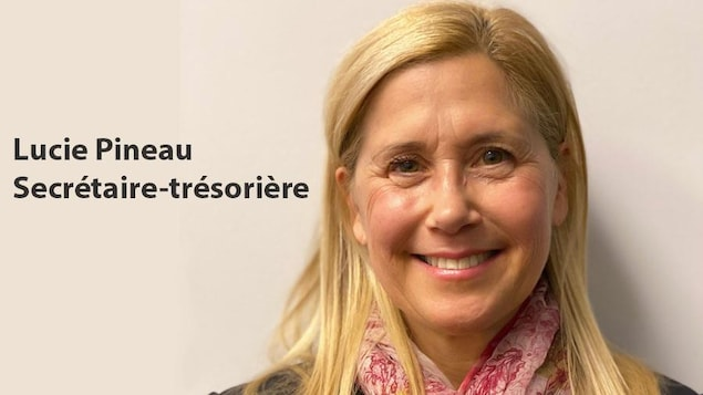 Plan serré du visage souriant de Lucie Pineau.