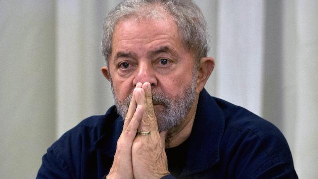L'ex-chef de l'État brésilien Lula da Silva.