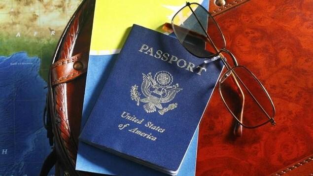 Un passeport américain.
