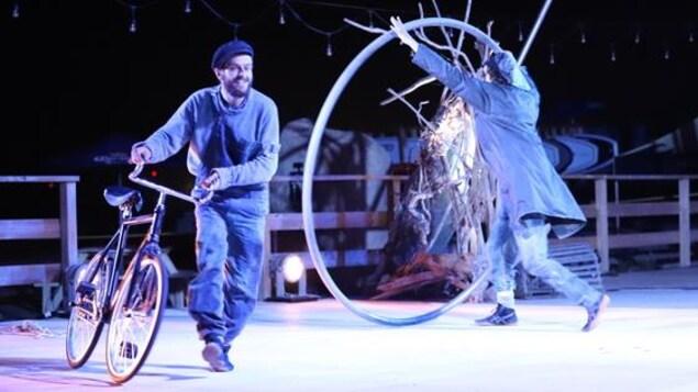 Spectacle «Fleuve» de Machine de cirque