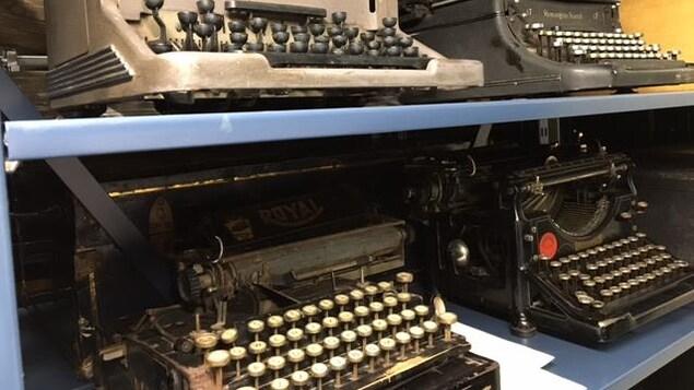 Machines à écrire, Maison Dumulon de Rouyn-Noranda