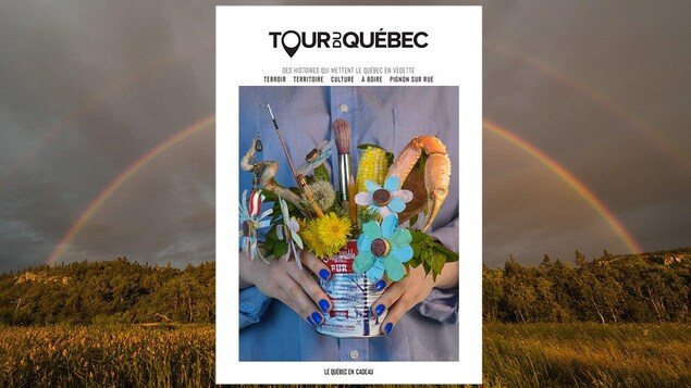 La page couverture de la dernière édition du magazine Tour du Québec (été 2020).