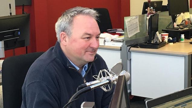 Le maire de Matane, Jérôme Landry