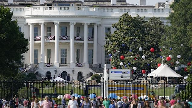 La Maison-Blanche à Washington.