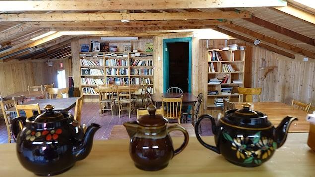Le restaurant situé à l'intérieur de la Maison de l'écrivain revivra cet été.