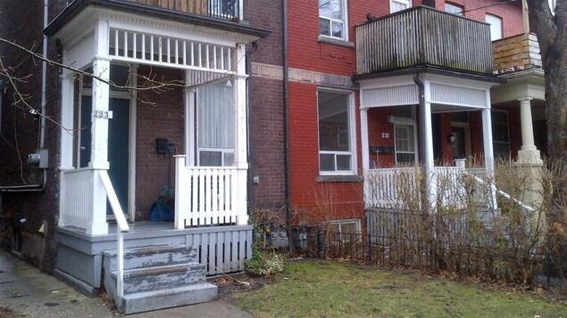 Un logement social à Toronto