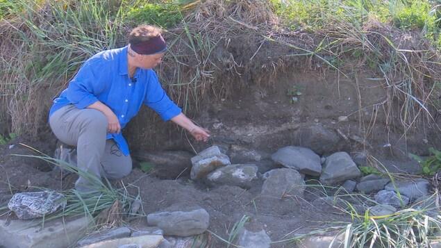 Les fouilles archéologiques ont permis de découvrir le dernier des murs du manoir des MacNider.