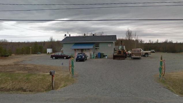 Une capture d'écran de Google Maps d'une résidence.
