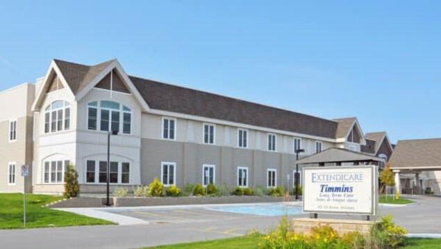 Le centre de soins de longue durée Extendicare Timmins.