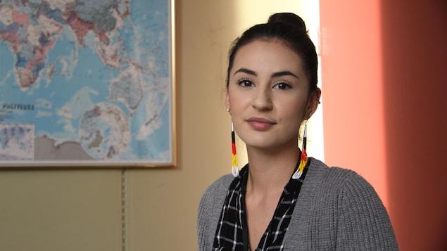 La militante Maïtée Saganash