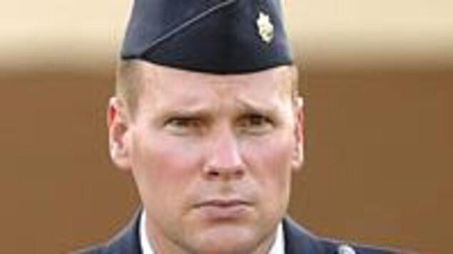 Le major William Umbach en uniforme.