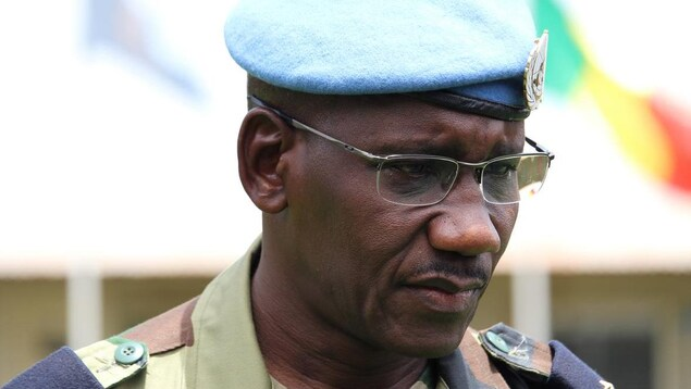 Un commandant africain.