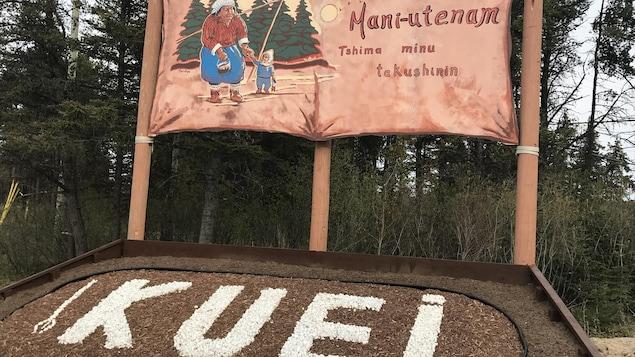 Mani-utenam vous souhaite la bienvenue en langue innue