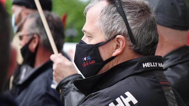 Un manifestant.
