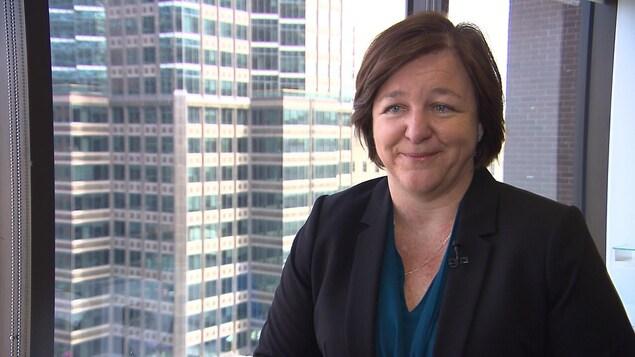 Manon Poirier, directrice générale de l'Ordre des conseillers en ressources humaines agréés du Québec