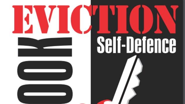 La page couverture du manuel d'autodéfense contre l'éviction