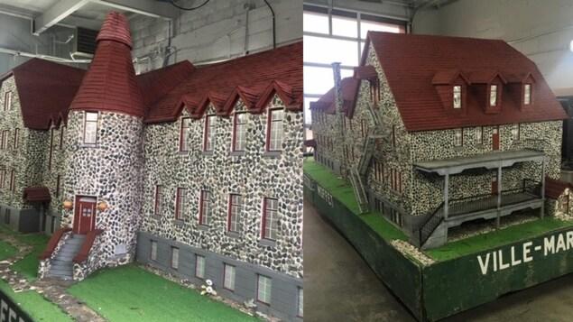 Une maquette de la Maison du Frère-Moffett.