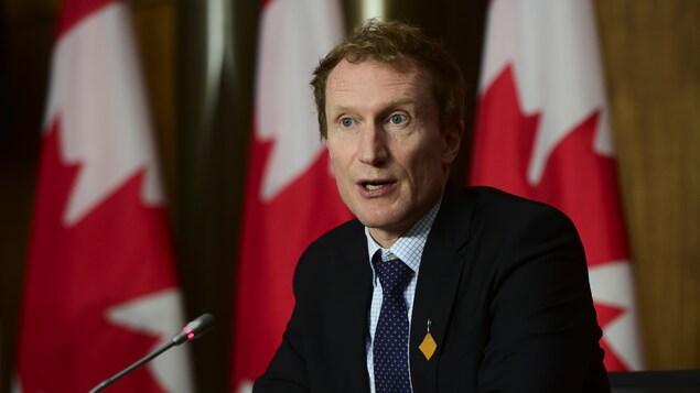 Le ministre des Services aux Autochtones, Marc Miller.