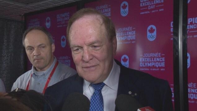 Marcel Aubut refuse de commenter le dossier du Gala Triomphe à la suite de la mise en demeure qu'il a expédiée à la Ville de Québec.