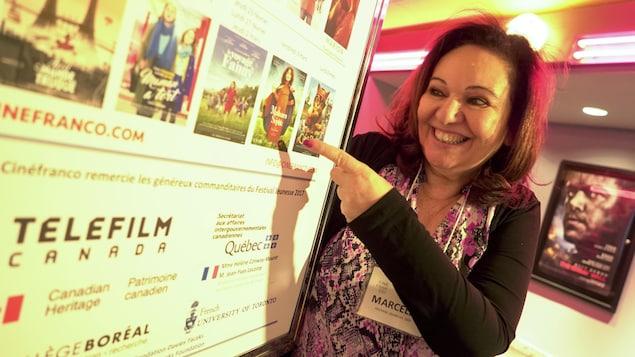 Marcelle Lean, directrice générale et artistique de Cinéfranco