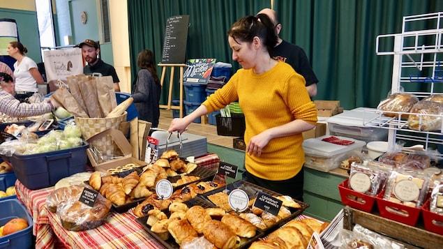 Marie Fortin de la boulangerie Toujours Dimanche