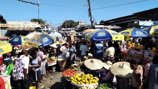 Marché Salomon à Port-au-Prince